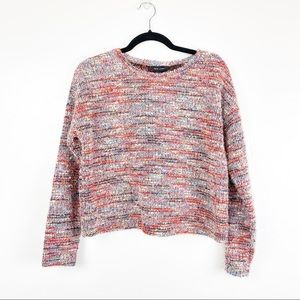 ASOS New Look Colorful Fuzzy Sweater